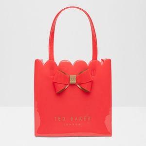 Ted Baker London Small Bow Scalloped Shopper Bag